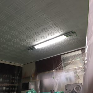 内部天井塗装工事 WORKS2