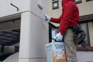 堺市塀塗装工事